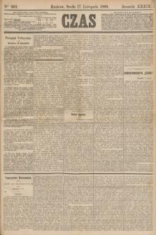 Czas. R.39, Ner 263 (17 listopada 1886)
