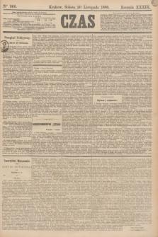 Czas. R.39, Ner 266 (20 listopada 1886)