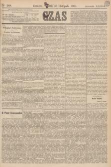 Czas. R.39, Ner 268 (23 listopada 1886)