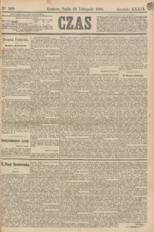 Czas. R.39, Ner 269 (24 listopada 1886)
