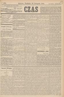 Czas. R.39, Ner 273 (28 listopada 1886)