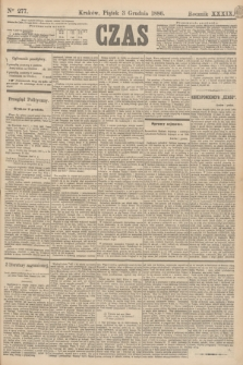 Czas. R.39, Ner 277 (3 grudnia 1886)