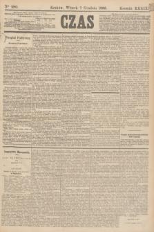 Czas. R.39, Ner 280 (7 grudnia 1886)
