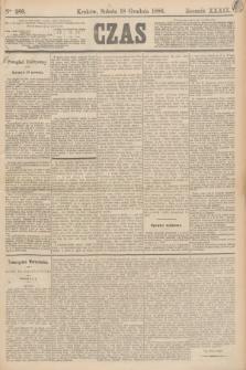 Czas. R.39, Ner 289 (18 grudnia 1886)