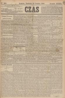 Czas. R.39, Ner 290 (19 grudnia 1886)