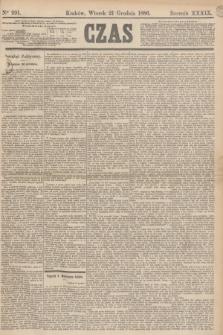 Czas. R.39, Ner 291 (21 grudnia 1886)