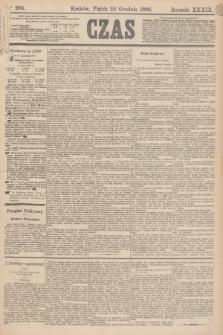 Czas. R.39, Ner 294 (24 grudnia 1886)