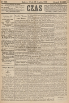 Czas. R.39, Ner 295 (25 grudnia 1886) + dod.