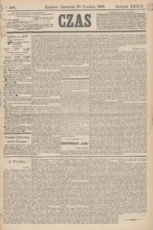 Czas. R.39, Ner 298 (30 grudnia 1886)