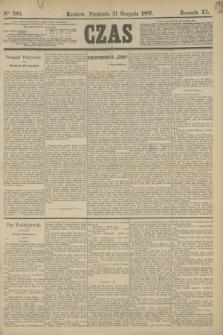 Czas. R.40, Ner 190 (21 sierpnia 1887)