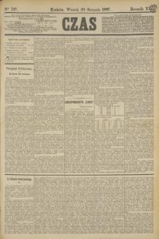 Czas. R.40, Ner 197 (30 sierpnia 1887)