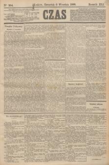 Czas. R.41, Ner 204 (6 września 1888)