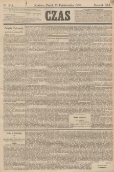 Czas. R.41, Ner 234 (12 października 1888)