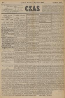 Czas. R.42, Ner 4 (5 stycznia 1889)