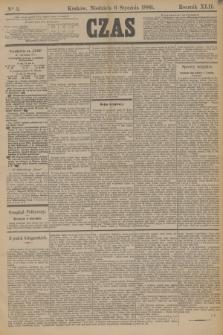 Czas. R.42, Ner 5 (6 stycznia 1889)