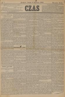 Czas. R.42, Ner 7 (9 stycznia 1889)