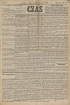 Czas. R.42, Ner 12 (15 stycznia 1889) + dod.
