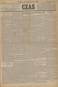 Czas. R.42, Ner 13 (16 stycznia 1889)