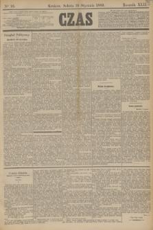 Czas. R.42, Ner 16 (19 stycznia 1889)