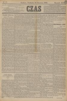 Czas. R.42, Ner 17 (20 stycznia 1889)