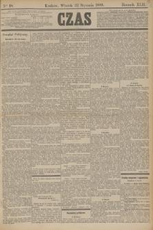 Czas. R.42, Ner 18 (22 stycznia 1889)