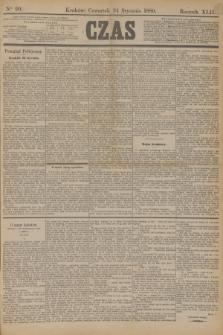Czas. R.42, Ner 20 (24 stycznia 1889) + dod.