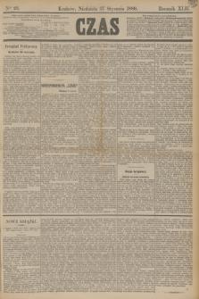 Czas. R.42, Ner 23 (27 stycznia 1889) + dod.