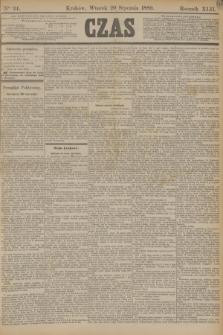 Czas. R.42, Ner 24 (29 stycznia 1889) + dod.
