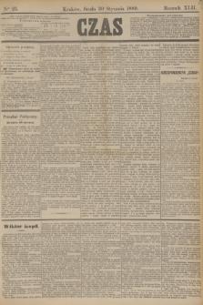 Czas. R.42, Ner 25 (30 stycznia 1889)