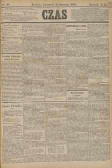 Czas. R.42, Ner 26 (31 stycznia 1889)