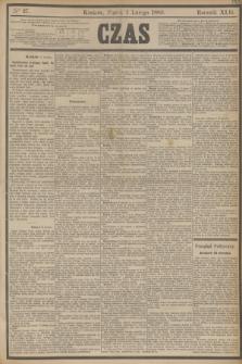 Czas. R.42, Ner 27 (1 lutego 1889)