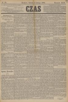 Czas. R.42, Ner 28 (2 lutego 1889)