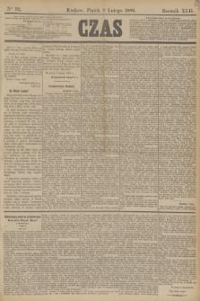 Czas. R.42, Ner 32 (8 lutego 1889)