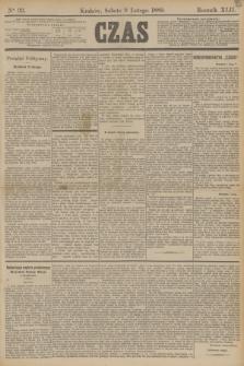 Czas. R.42, Ner 33 (9 lutego 1889) + dod.