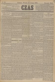 Czas. R.42, Ner 35 (12 lutego 1889)