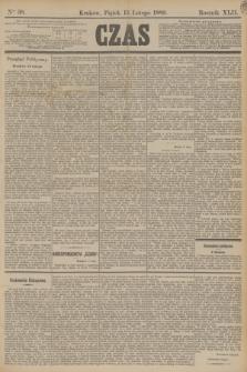 Czas. R.42, Ner 38 (15 lutego 1889)