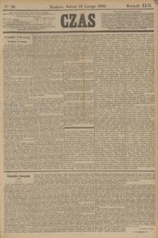 Czas. R.42, Ner 39 (16 lutego 1889)
