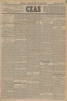 Czas. R.42, Ner 49 (28 lutego 1889)