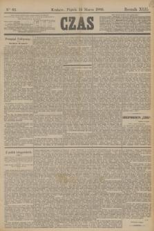 Czas. R.42, Ner 62 (15 marca 1889)
