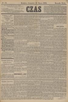 Czas. R.42, Ner 72 (28 marca 1889)