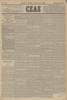 Czas. R.42, Ner 79 (5 kwietnia 1889)