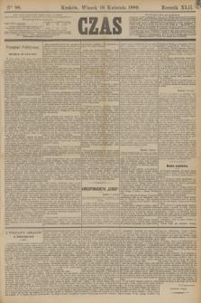 Czas. R.42, Ner 88 (16 kwietnia 1889)