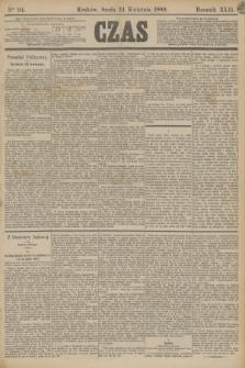 Czas. R.42, Ner 94 (24 kwietnia 1889)