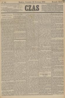 Czas. R.42, Ner 95 (25 kwietnia 1889)