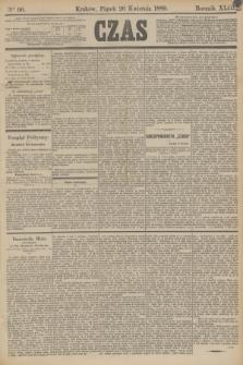 Czas. R.42, Ner 96 (26 kwietnia 1889)