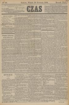 Czas. R.42, Ner 99 (30 kwietnia 1889)