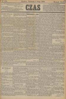 Czas. R.42, Ner 104 (5 maja 1889)