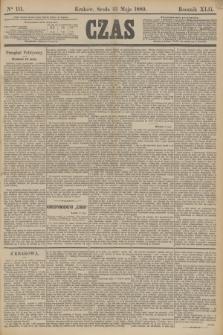 Czas. R.42, Ner 111 (15 maja 1889)