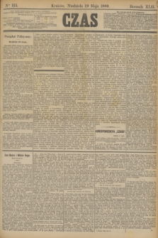 Czas. R.42, Ner 115 (19 maja 1889)