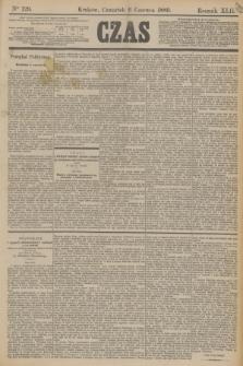 Czas. R.42, Ner 129 (6 czerwca 1889)